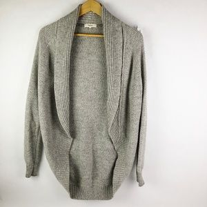 Aritzia Talula Haddon Cocoon Open Sweater Cardigan